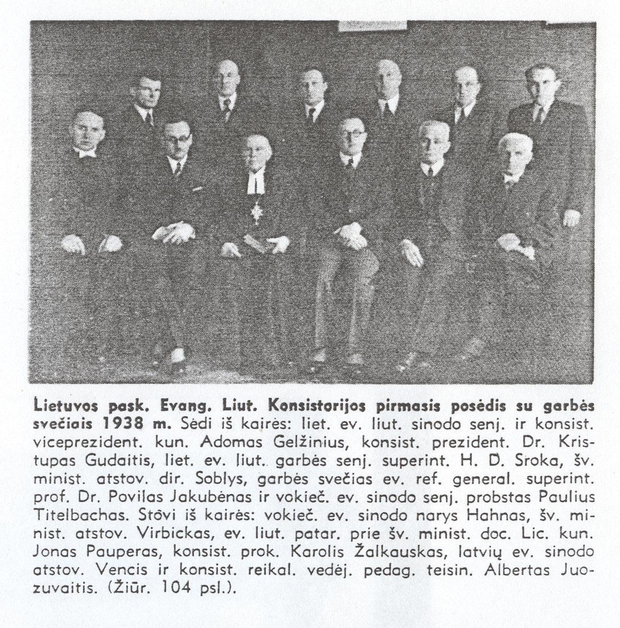 4. LELB konsistorija 1938