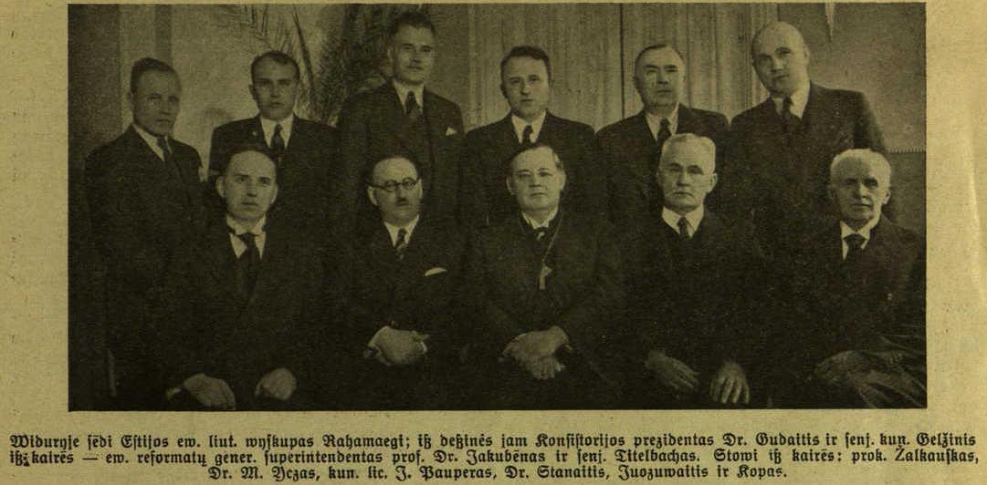 5. Estu vyskupo viesnage 1938