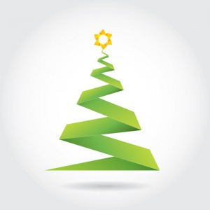 Origami-Christmas-Tree