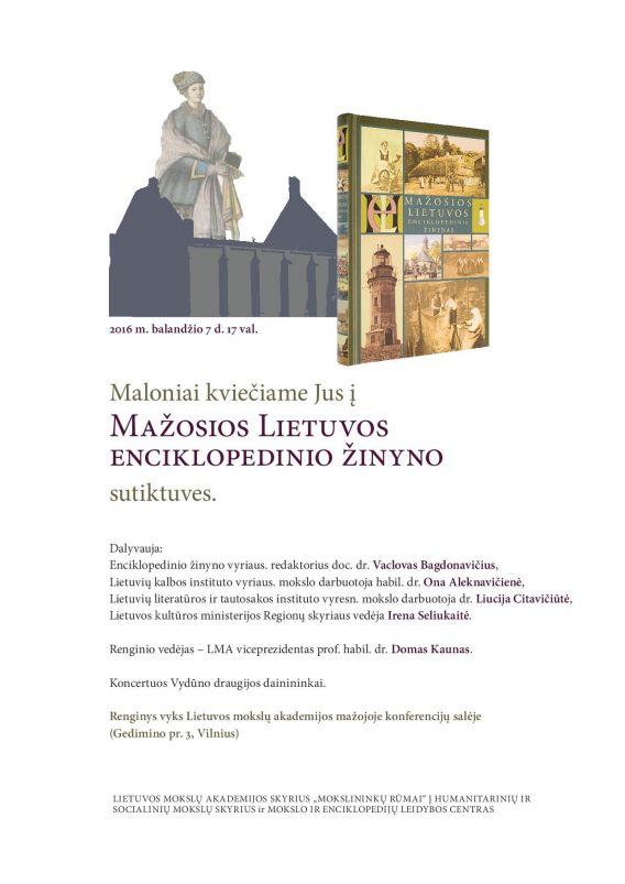 M Lietuvos encikloped zinynas